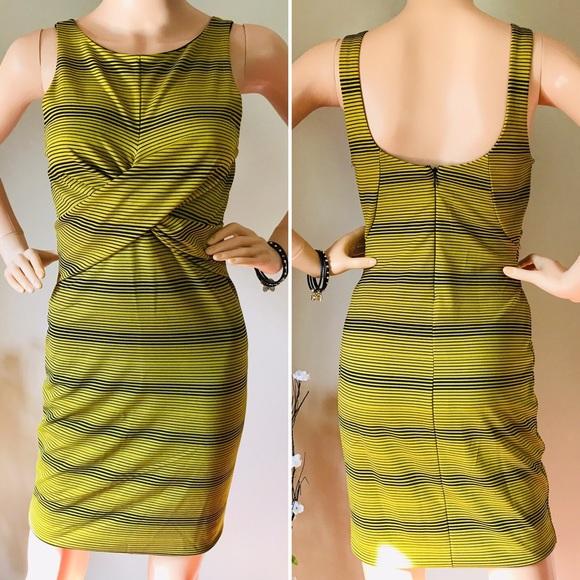 Bar III Dresses & Skirts - Bar lll Beautiful Color Gold Dress Sleeveless